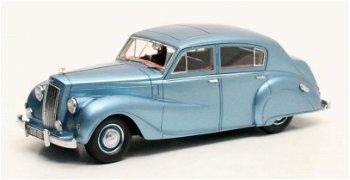 Modellauto:Austin A 135 Princess II DS 3 - Vanden Plas - von 1950, blau-metallic(Matrix, 1:43)