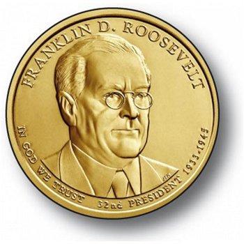 Franklin D. Roosevelt, Präsidentendollar 2014, USA