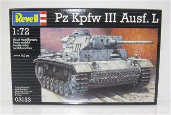 Panzer:Panzer Kampfwagen III Ausführung L von 1942 - Bausatz(Revell, 1:72)