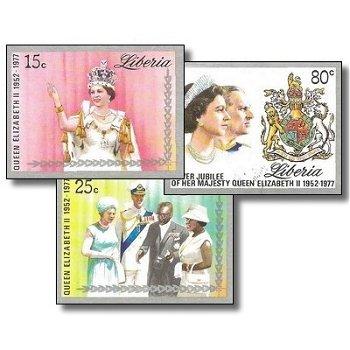 25 Jahre Regentschaft von Königin Elisabeth II. – Briefmarken postfrisch, ungezähnt, Katalog-Nr. 103