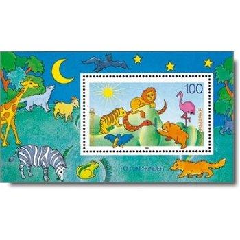 Für uns Kinder 1995, Block 34 postfrisch, Katalog-Nr. 1825, Bundesrepublik