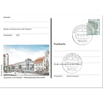 1300 Eberswalde/Finow - Bildpostkarte