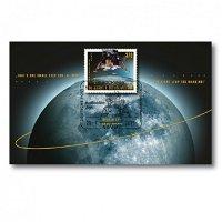 Weltraum: 50 Jahre 1. Mondlandung - Briefmarken-Block gestempelt, Deutschland