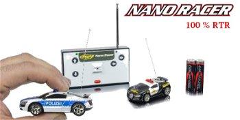 RC-Modell:Nano Racer - Polizei -, MHz, 100% RTR(Carson RS Sport, 1:60)