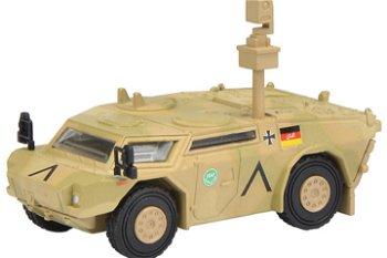 Militaria-Modell:Fennek Panzerspähwagen, flecktarn - ISAF -(Schuco, 1:87)