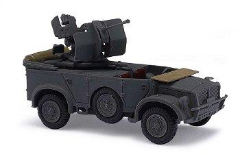 Militaria-Modell:Horch 108 Typ 40 mit Flak(Busch, 1:87)