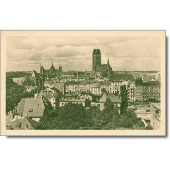 """2400 Weimar - Postkarte """"Stadtansicht"""""""