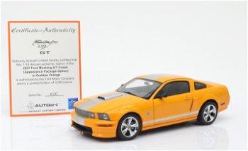 Shelby GT von 2007, orange(AUTOart,1:18)