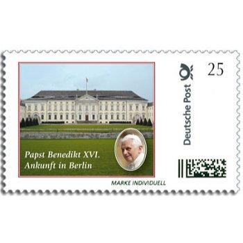 Papst Benedikt XVI. in Berlin - Marke Individuell postfrisch