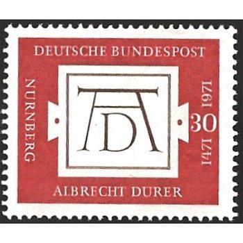 Maler: Albrecht Dürer - Briefmarke Kat.Nr. 677 postfrisch, Deutschland