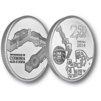 Universität Coimbra, Silbermünze Portugal