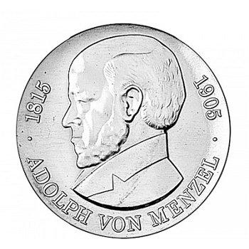 5-Mark-Münze 1980, 75. Todestag Adolph von Menzel, DDR