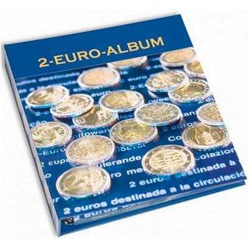 Vordruckalbum NUMIS, Band 2, für 2-Euro-Münzen 2008-10 u. 10 Jahre WWU/Bundesländerserie 2009-11, Le