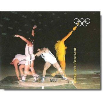 Olympische Sommerspiele 1984, Los Angeles - Briefmarken-Block ungezähnt postfrisch, Katalog-Nr. 850