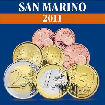 San Marino - Kursmünzensatz 2011