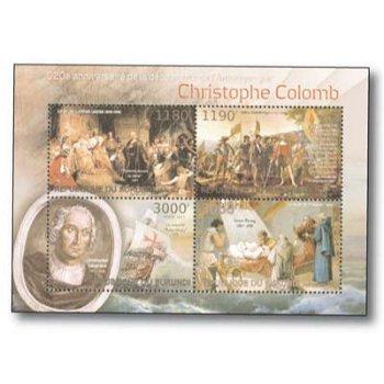 Christoph Kolumbus - Briefmarken-Block postfrisch, Burundi