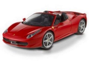 Modellauto:Ferrari 458 Italia Spider von 2011, rot(Mattel-Elite, 1:18)
