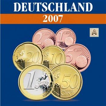 Germany - Mint set 2007, mint mark A