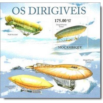 Zeppeline - Briefmarken-Block postfrisch, Mocambique