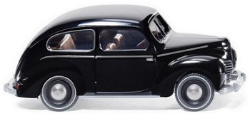 Modellauto:Ford Taunus G73A von 1949, schwarz(Wiking, 1:87)
