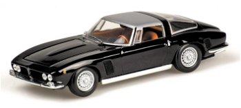 Modellauto:Iso Grifo von 1968, schwarz(Minichamps, 1:43)