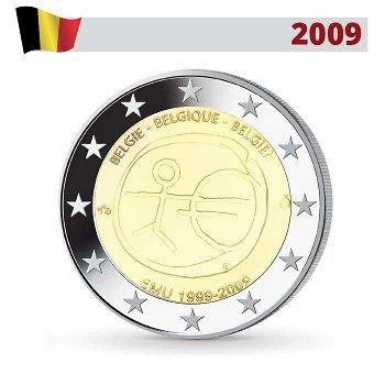 Wirtschafts- und Währungsunion, 2 Euro Münze 2009, Belgien