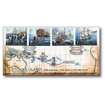 Meuterei auf der Bounty - Ersttagsbrief, Pitcairn