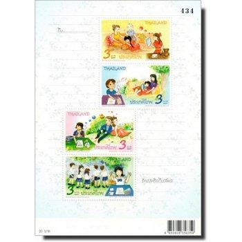 Internationale Briefwoche - Briefmarken-Block postfrisch, Katalog-Nr. 3260-3263 Bl. 291, Thailand