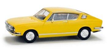 Modellauto:Audi 100 S Coupé, gelb(Herpa, 1:87)