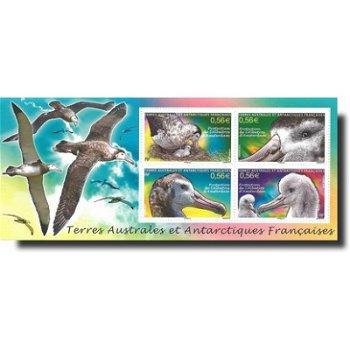 Albatros - Briefmarken-Block postfrisch, Katalog-Nr. 724-727 Bl. 25, TAAF