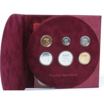 Kursmünzensatz 2000 in Polierter Platte, Niederlande