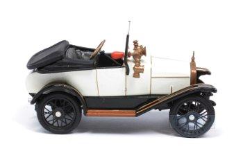 Modellauto:Hinstin von 1920, creme-schwarz(1:43)