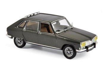 Modellauto:Renault 16 TX von 1976, grau-metallic(Norev, 1:43)