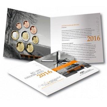 Kursmünzensatz 2016, Polderlandschaft - Niederlande