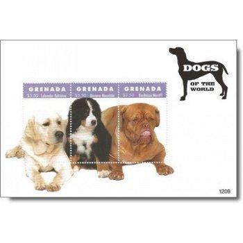 Hunde - Briefmarken-Block postfrisch, Grenada