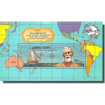 100 Jahre Weltpostverein (UPU) – Briefmarken-Block postfrisch, Katalog-Nr. A 305, Block 6, Samoa