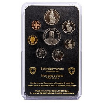 Kursmünzensatz 1997 - Schweiz, Stempelglanz