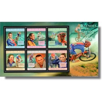 Sportlegenden Sommer 2012 - Briefmarkenblock postfrisch, Guinea