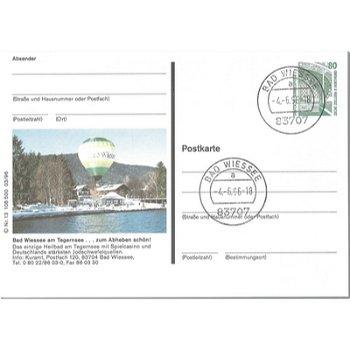 "8182 Bad Wiessee - Bildpostkarte ""Heilbad"""