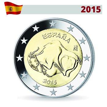 2-Euro-Münze 2015, Höhle von Altamira, Spanien