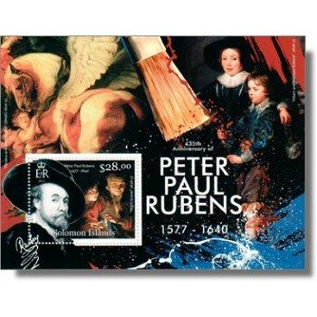 Peter Paul Rubens - Briefmarken-Block postfrisch, Salomon-Inseln