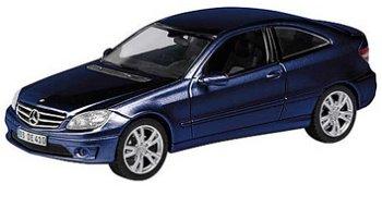 Modellauto:Mercedes-Benz CLC von 2008, blau(Schuco, 1:43)