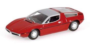 Modellauto:Maserati Bora von 1972, rot(Minichamps, 1:43)