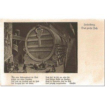 "6900 Heidelberg - Postkarte ""Faß"""