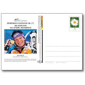 Alpine Ski - WM 2009 - Ganzsache postfrisch, Deutschland