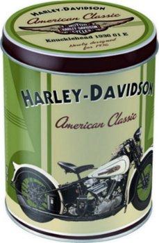 Nostalgische Blechdose:Harley-Davidson - Knucklehead -(Nostalgic Art)