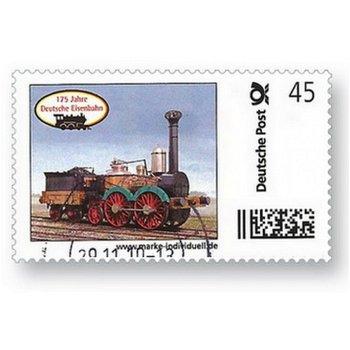 175 Jahre Deutsche Eisenbahn Saxonia - Marke Individuell, gestempelt