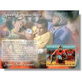 Legenden des Sports - Briefmarken-Block postfrisch, Katalog-Nr. 1814 Bl. 153, Papua-Neuguinea