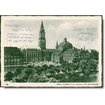 """2300 Kiel - Feldposkarte """"Rathaus"""""""
