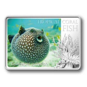 1-Dollar-Silbermünze Kugelfisch, Niue
